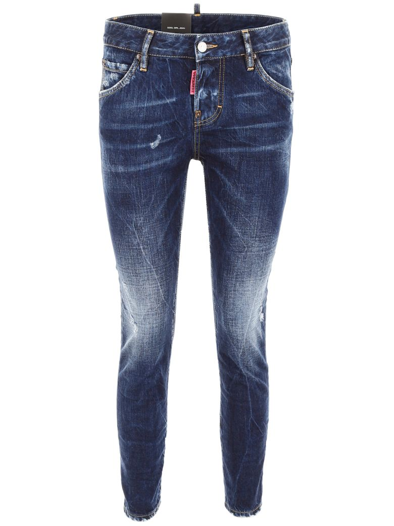 Dsquared2 Be Cool Be Nice Jeans - BLUE DENIM|Blu