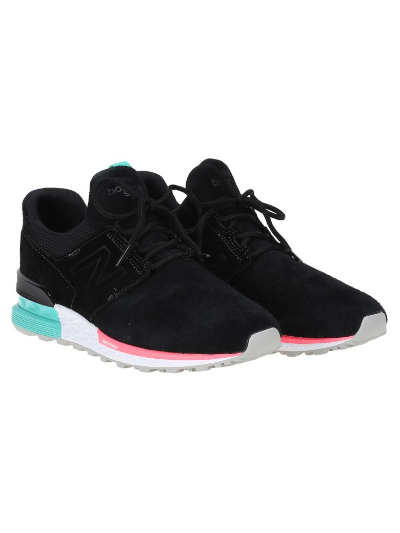 New Balance 574 Urban Night Neon Pack In Black  f7bc68d6a4
