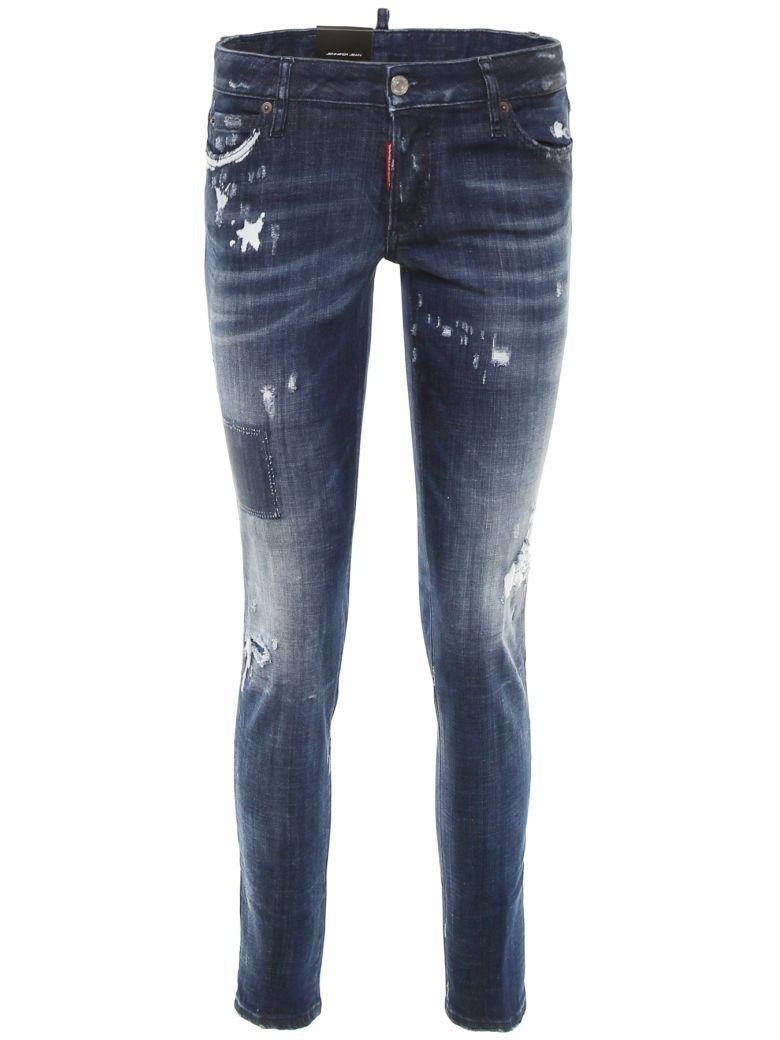 Dsquared2 Jennifer Jeans With Five Pockets - BLUE DENIM|Blu