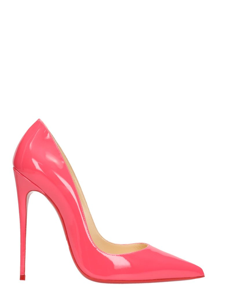 SO KATE 120 PINK PATENT LEATHER PUMPS