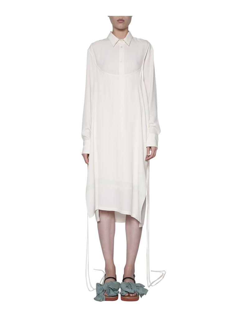 CREPE SHIRT DRESS