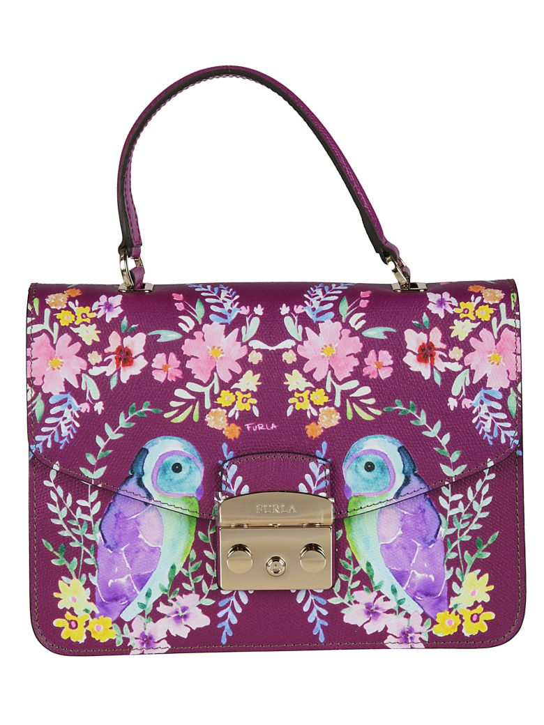 OWL PAINTED METROPOLIS SHOULDER BAG