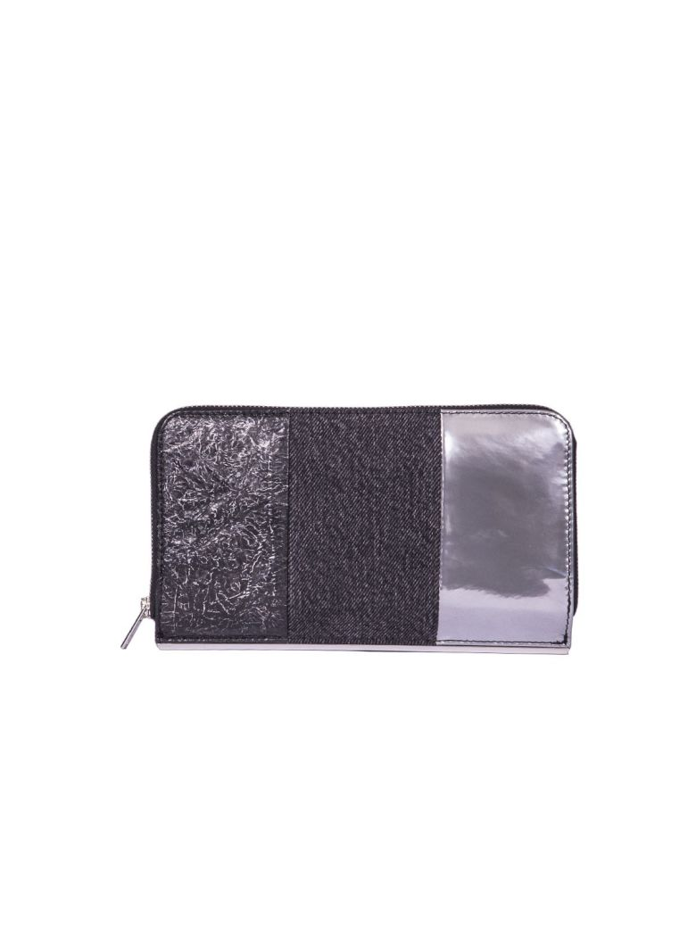 Dime Continental Zip Wallet, Multicolor