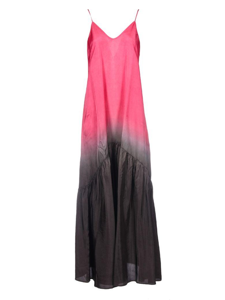 8PM LONG SLEEVELESS DRESS