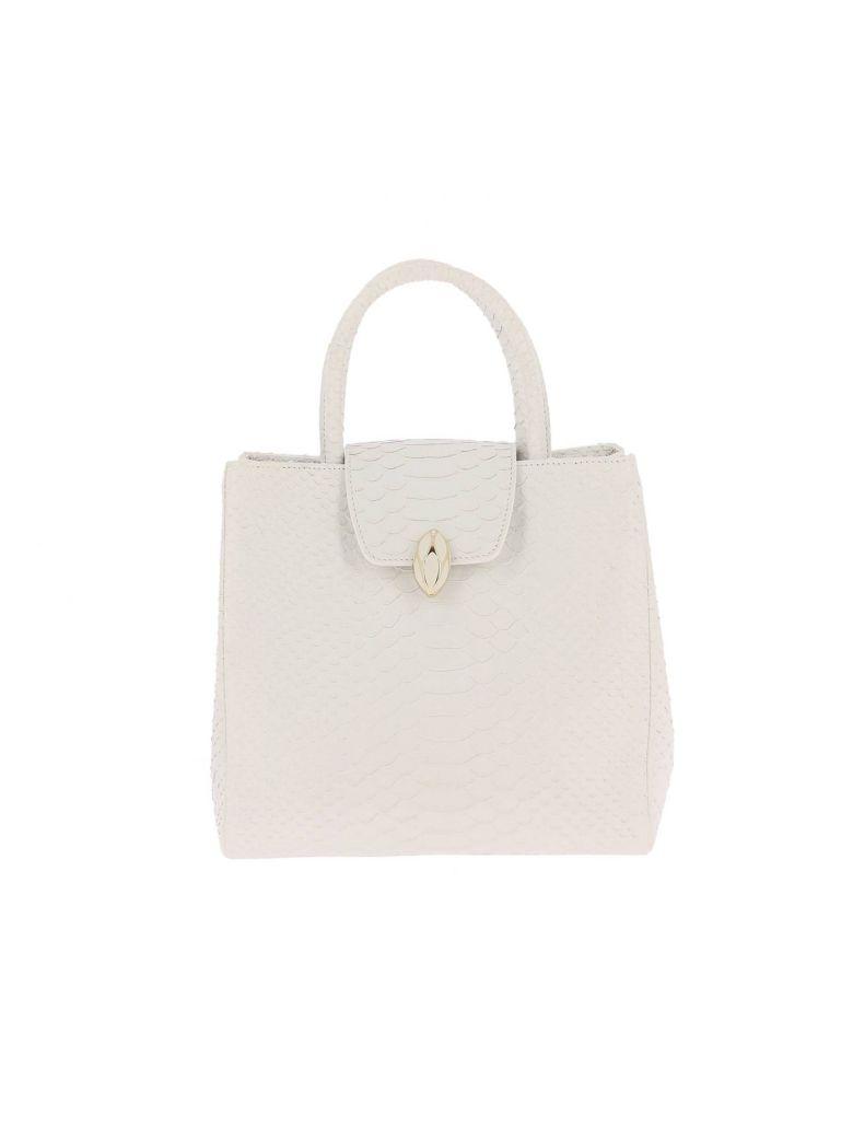 F.E.V. BY FRANCESCA E. VERSACE F.E.V. By Francesca E. Versace Handbag Shoulder Bag Women F.E.V. By Francesca E. Versace in White