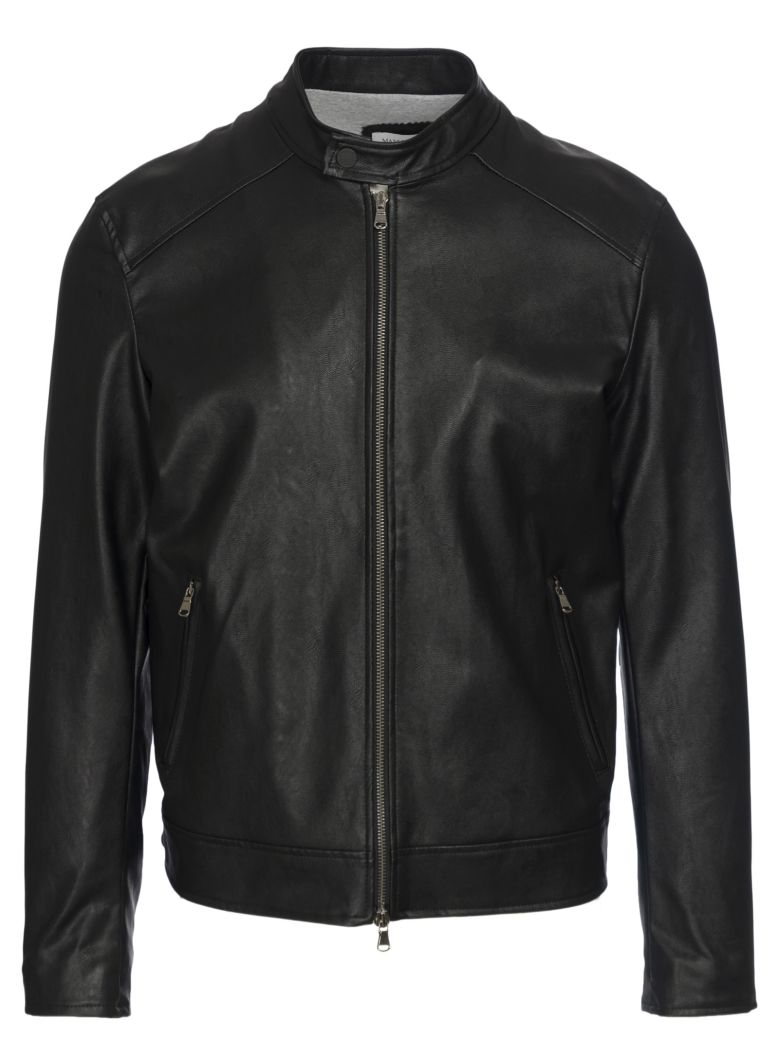 FAUX LEATHER BIKER