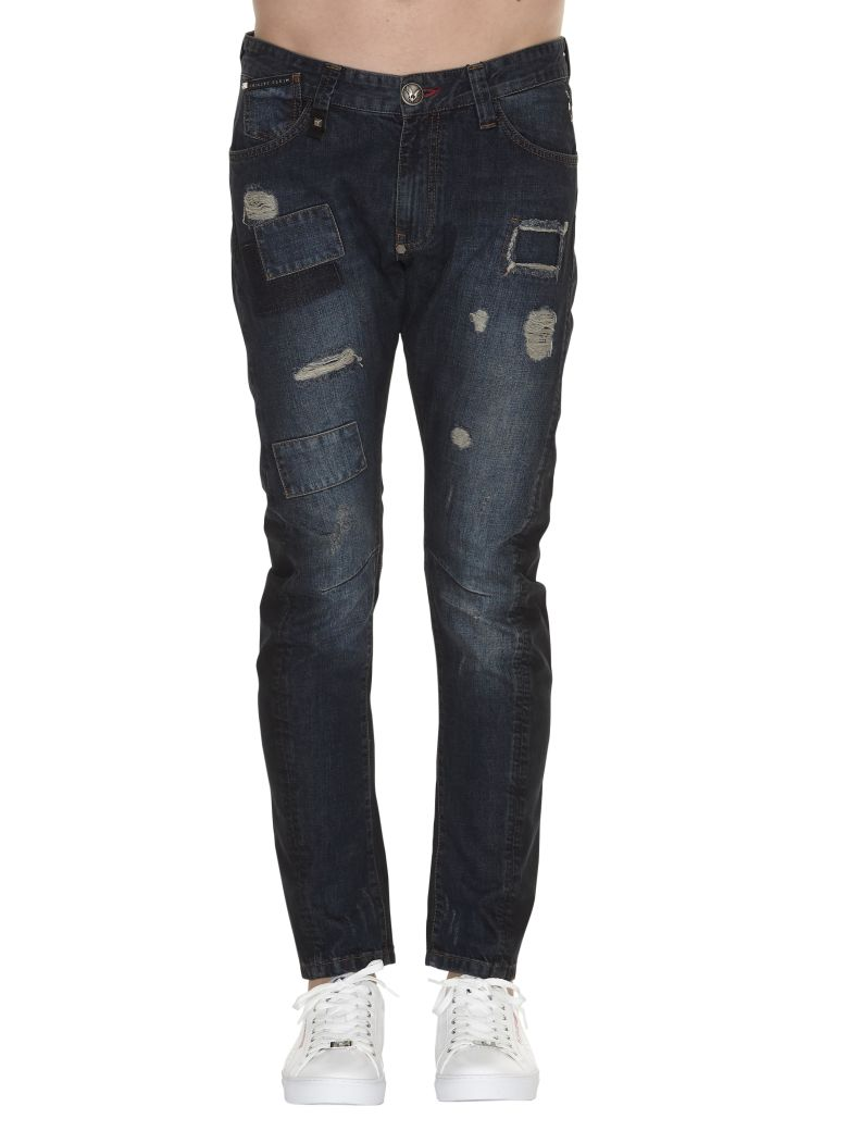 Doctor Jones jeans - Blue Philipp Plein U3BJx