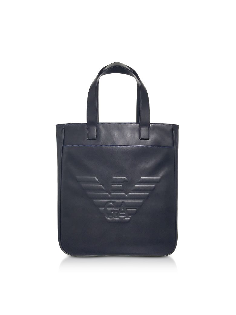 79fdc38a2c5b Emporio Armani Black Eagle Men S Vertical Tote Bag