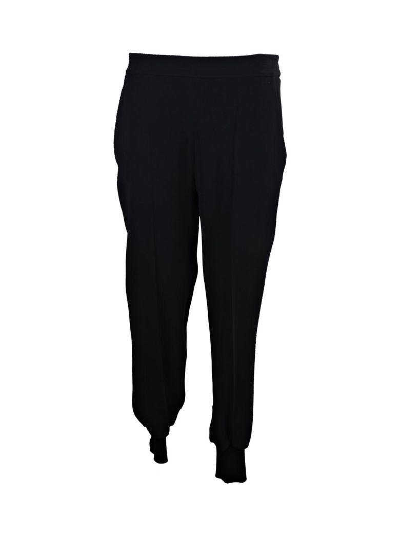 STELLA MCCARTNEY WOMEN'S 499876SCA064061 BLUE/BLACK VISCOSE PANTS