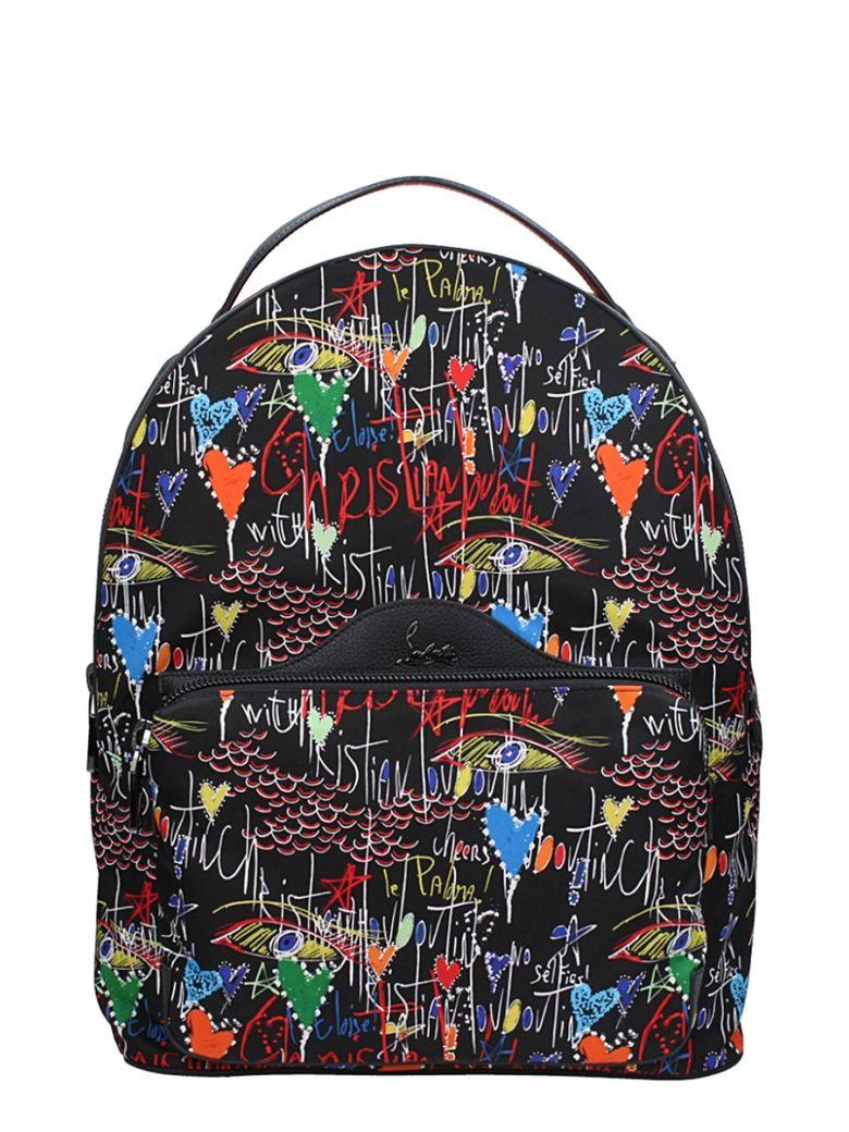 4f21212349 CHRISTIAN LOUBOUTIN Backloubi Men S Graffiti-Print Backpack