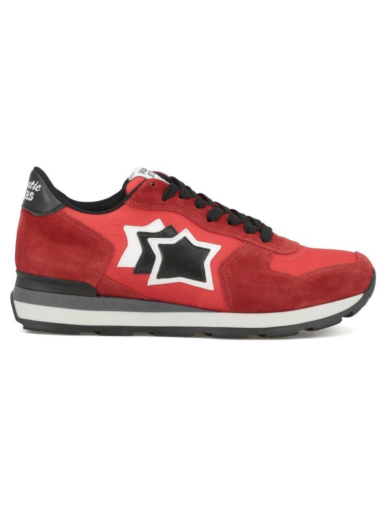 ATLANTIC STARS Vega Lace-Up Sneakers in Red