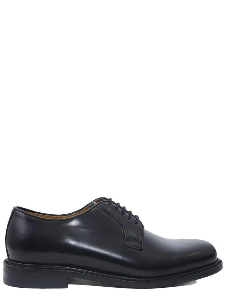 BERWICK - LACE-UP LEATHER SHOES