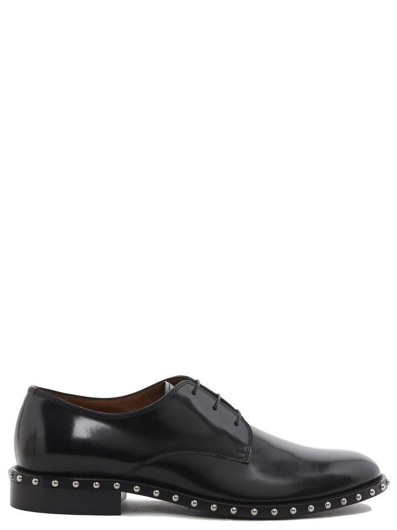 Cruz Studded Derby Shoe - IT39 / Black Givenchy TInVbGcr9