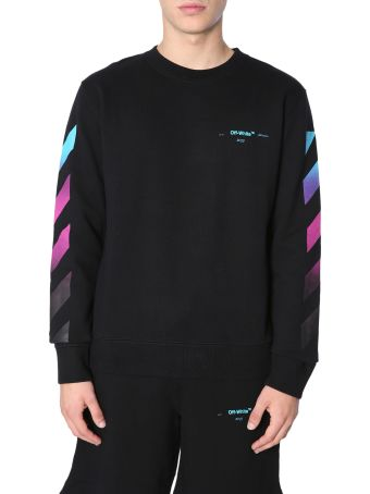 Off-White Round Collar Sweatshirt