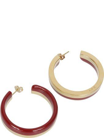 A.P.C. Hoop Earrings