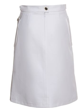 A.P.C. Catherine Skirt In White