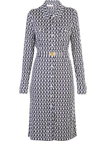 Tory Burch Viscose And Silk Shirt Dress