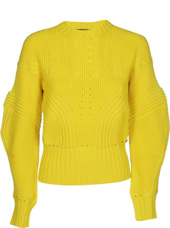 Versace Perforated Detail Sweater
