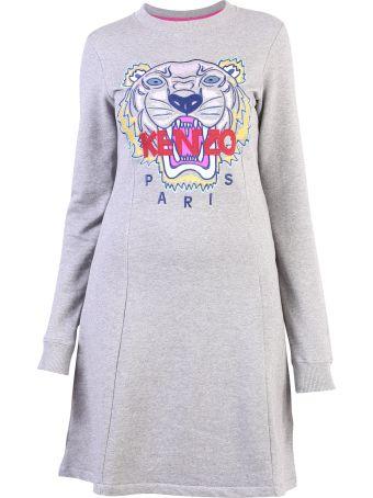 Kenzo Grey Dress