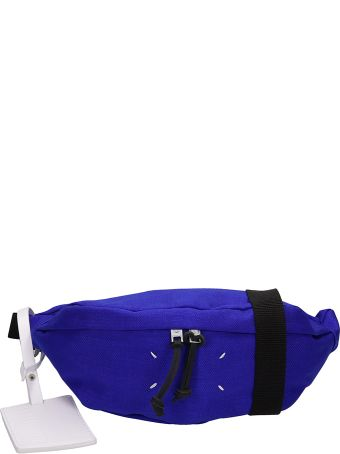Maison Margiela Blue Canvas Beltbag