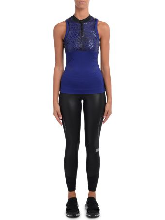 Stella McCartney Adidas By Stella Mccartney Black Fabric And Mesh Tight