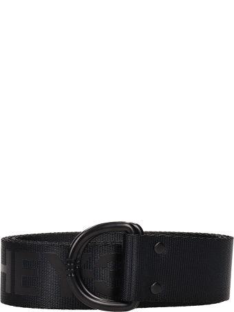Y-3 Black Fabric Belt