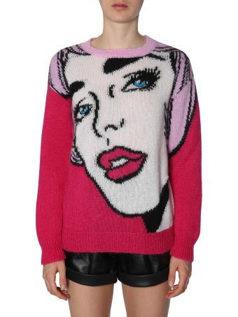 Moschino Oversize Fit Jumper