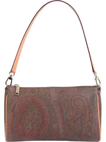 Paisley Printed Shoulder Bag