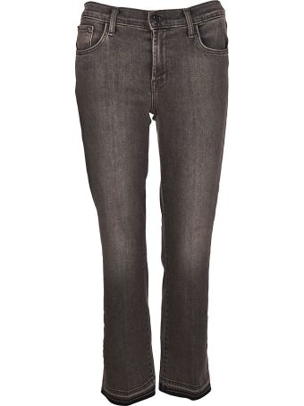 J Brand Cropped Boot-cut Jeans