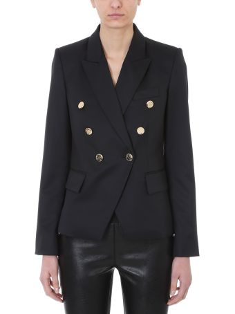 Stella McCartney Black Wool Double-breasted Jacket