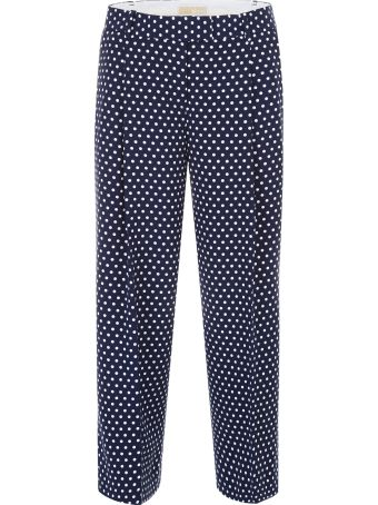 Cropped Polka Dots Trousers