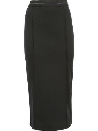 Prada Linea Rossa Prada Midi Skirt