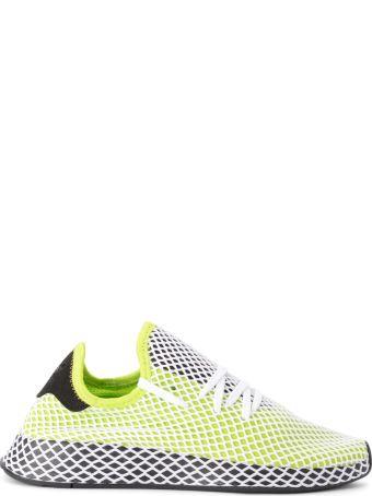 Adidas Originals Deerupt Green And White Mesh Sneaker