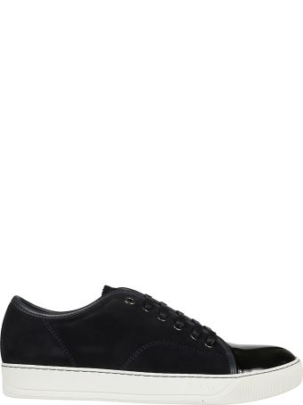 Lanvin Velour Sneakers