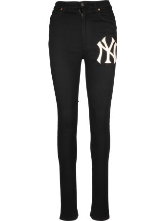 Gucci Ny Yankees Skinny Jeans