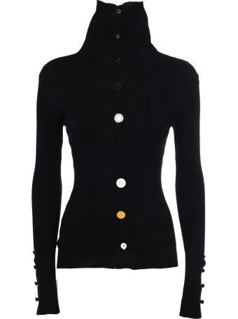 Jacquemus Ribbed Button Front Cardigan