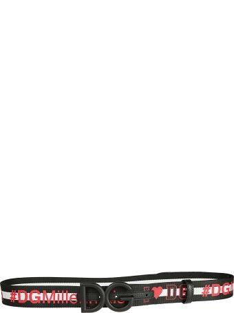 Dolce & Gabbana Dg Millennials Logo Belt