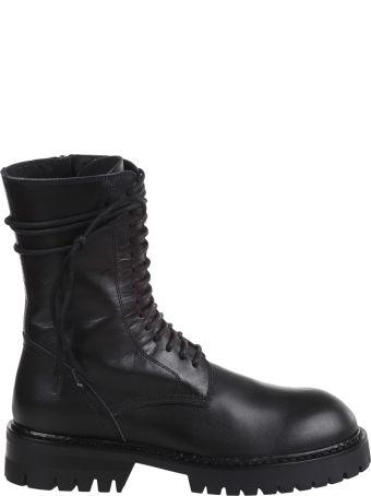 Ann Demeulemeester Lace-up Combat Shoes