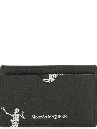 Alexander McQueen Dancing Skull Cardholder