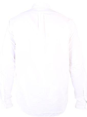 Kenzo White Embroidered Shirt