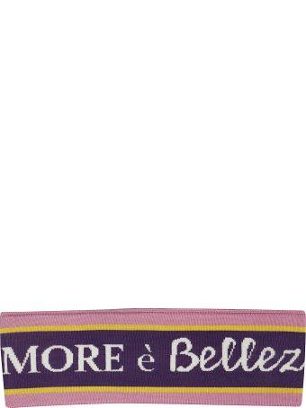 Dolce & Gabbana Embroidered Stretch Headband