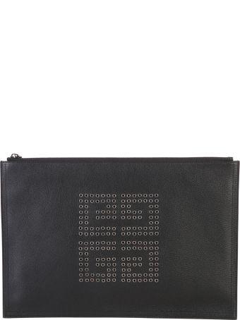 Givenchy Black Zipped Clutch