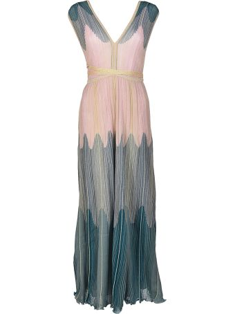 M Missoni Embroidered Maxi Dress