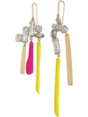 Isabel Marant Asymmetric Earrings