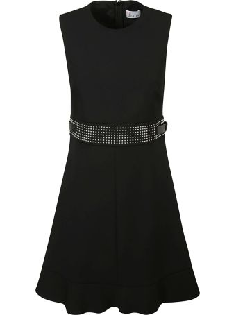 Red Valentino Studded Waist Dress