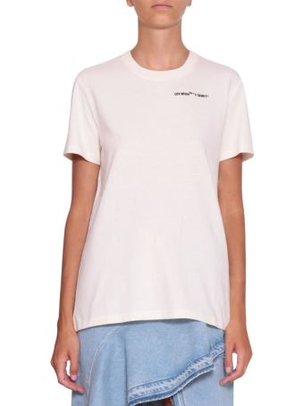 Off-White Quotes Cotton T-shirt