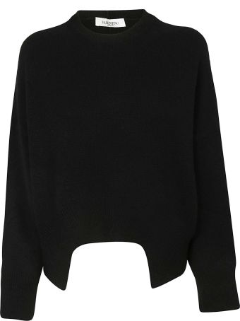 Valentino Cutout Detail Sweater