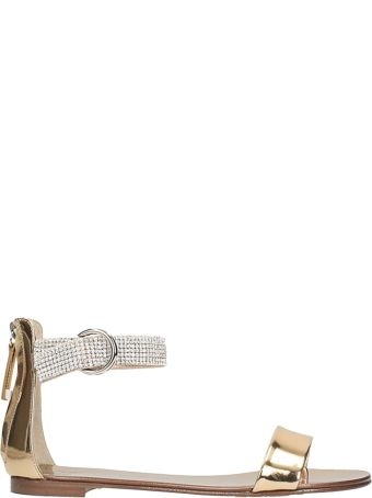 Giuseppe Zanotti Embellished Strap Sandals