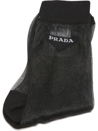 Prada Embroidered Socks