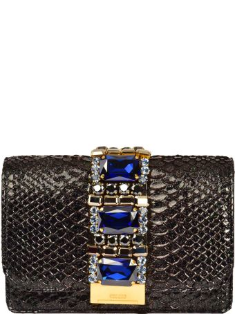 Gedebe Crystal Embellished Shoulder Bag